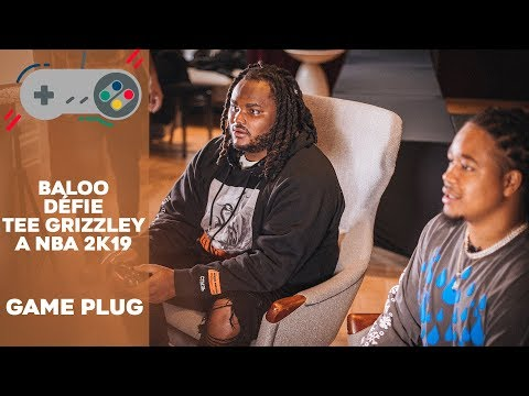 Tee Grizzley VS French Baloo - NBA 2K19 #GAMEPLUG