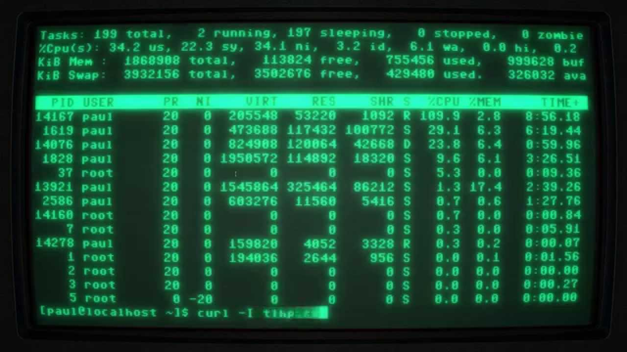 Don 2 Hd Wallpaper 1080p Fallout Crt Terminal In Cool Retro Term 1080p 60fps Youtube