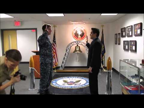 My Navy Officer Commissioning Ceremony - Dental HPSP