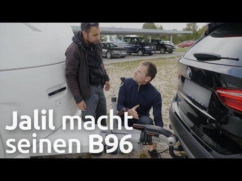 Wohnwagen-Führerschein B96 - So läuft es ab