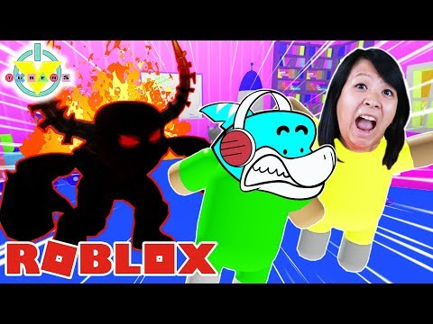 Ryan's Mommy Let's Play ROBLOX BABY DAYCARE STORY! Escape the Creepiest DAYCARE in Roblox