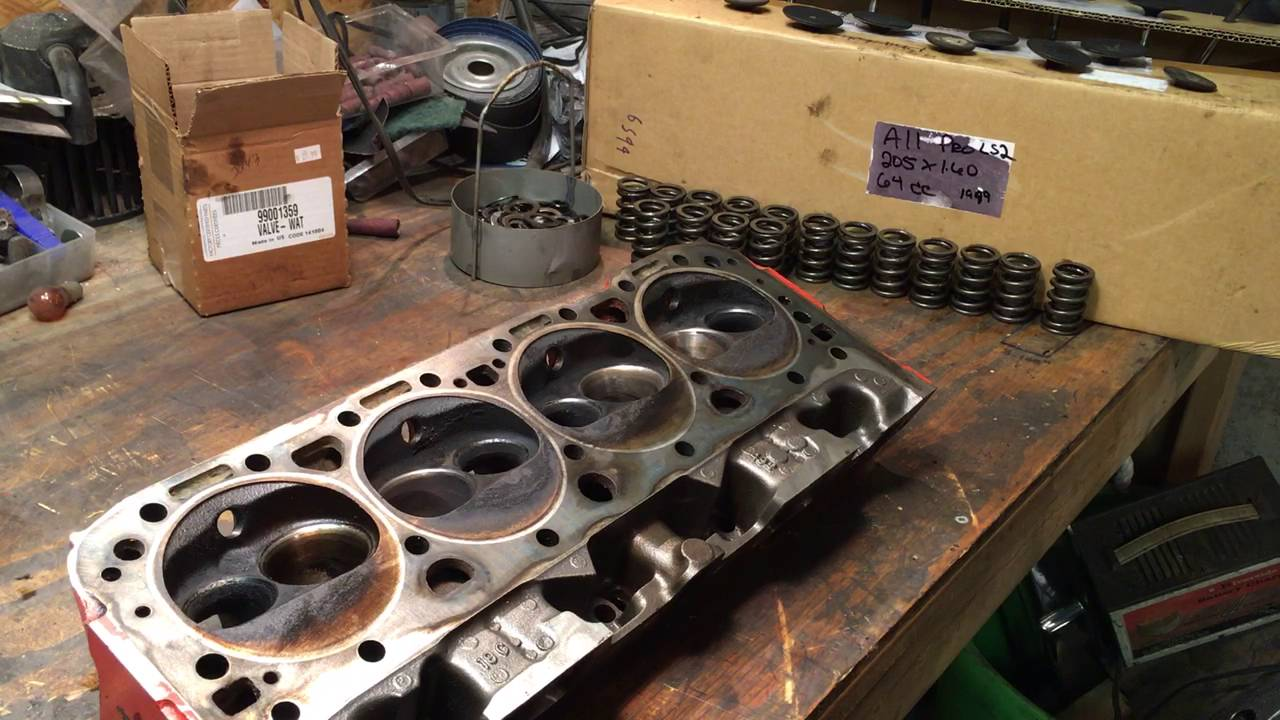 LT1 Double Hump heads 492 disassembly
