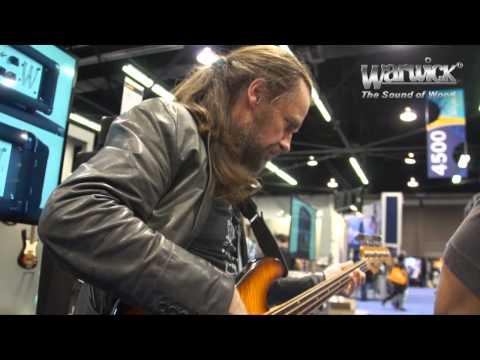 Warwick @ NAMM 2013 - Jonas Hellborg, Robert Trujillo and the bass of Jaco Pastorius