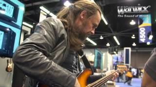 Warwick @ NAMM 2013 - Jonas Hellborg, Robert Trujillo and the bass of Jaco Pastorius