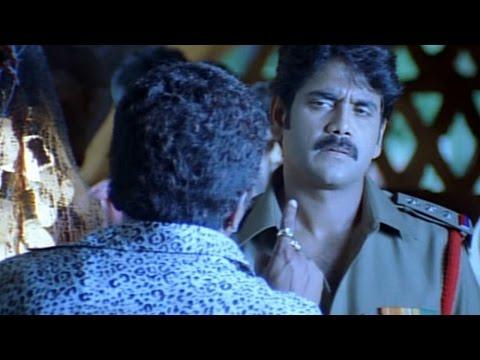 Shivamani Telugu Movie  Nagarajuna Giving Warning To Prakash Raj Acton