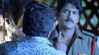 Shivamani Telugu Movie    Nagarajuna Giving Warning To Prakash Raj Acton Scene