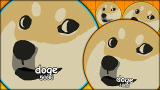 DOGE REBORN!! DOGE ARMY AGARIO CLAN STARTER - GETTING TO THE TOP (MOST ADDICTIVE GAME - AGAR.IO #23)