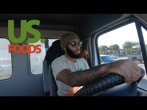 A Day In The Life Of A (Us Foods) Truck Driver
