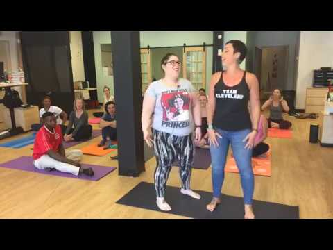 Tracie Zamiska from Akron Yoga and Wellness | Work In Yoga | June 28