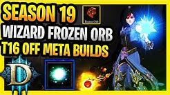 Season 19 Frozen Orb Wizard Build Diablo 3 Fast Wizard T16 Build (D2 Style) Off Meta Builds