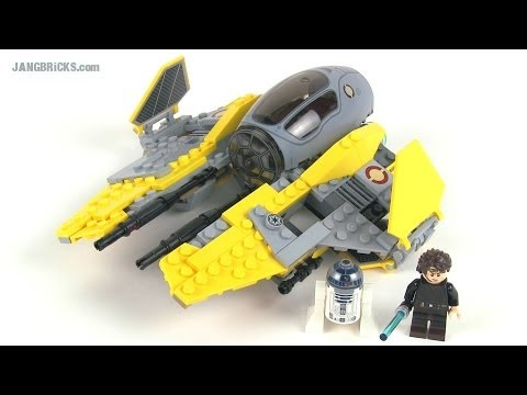 Lego star wars 75038 jedi interceptor review 2014 anakin rots version youtube - Vaisseau star wars anakin ...