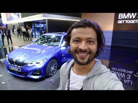Yeni BMW 3 Serisi G20 Ve Mercedes A Serisi Sedan Inceledim! Paris Fuarı'nın Yıldızları - Vlog#52