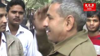 fight between lawyers and police ahead of agra district court