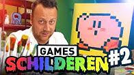 GAMES SCHILDEREN #2 | Schilderen met Rick