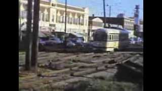 Kansas City Streetcar 1956 - Country Club Line leaving Waldo northbound