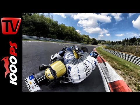 Nürburgring Nordschleife - The perfect Line -  Ideallinie am Motorrad 3rd Person and POV