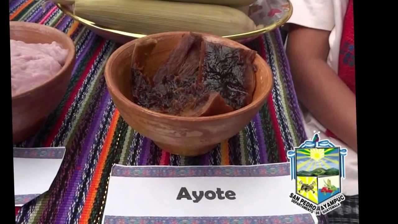 Comidas tpicas de San Pedro Ayampuc  YouTube