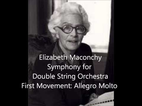 Elizabeth Maconchy: Symphony for Double String Orchestra, First Movement: Allegro Molto