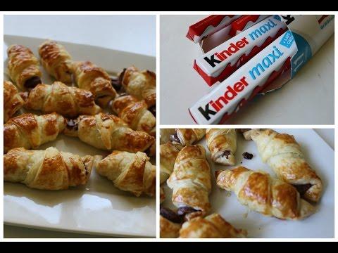 recette-:-petits-croissants-au-kinder-facile-!
