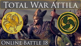 Total War Attila Online Battle 18 Sassanids vs Alans