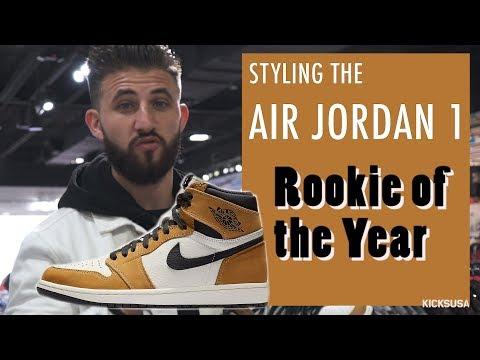 air jordan 1 rookie of the year