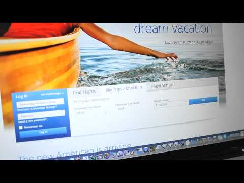 #AmericanAnswers - How do I check in for my American Airlines flight online?