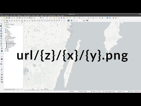 QGIS 2.18 Raster Tiles med XYZ