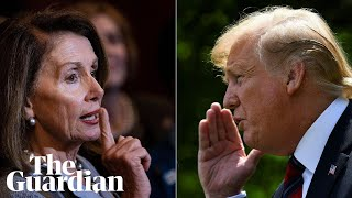 Pelosi and Trump trade blows after oval office row