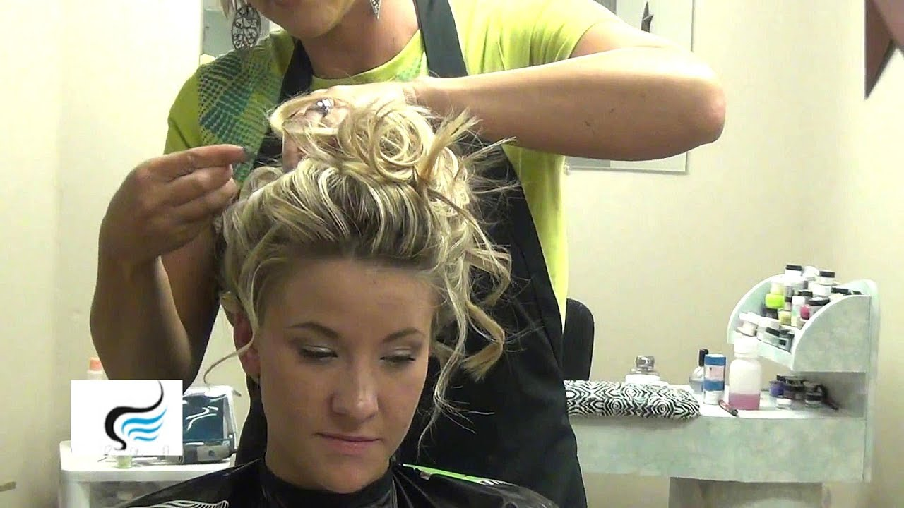 Soft Curly Updo For Wedding For Long Hairstyles Tutorial