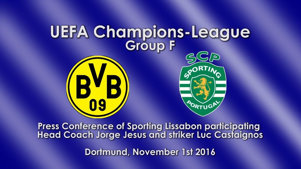 Borussia Dortmund - Sporting Lissabon: Pk mit Luc Castaignos und Jorge Jesus