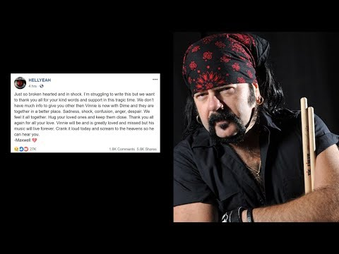 Vinnie Paul Bandmates Pay Tribute To Him, Rock World Reacts | Rock Feed