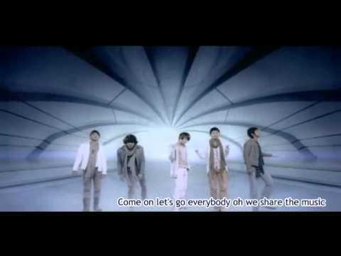 DBSK Share The World eng sub and lyrics