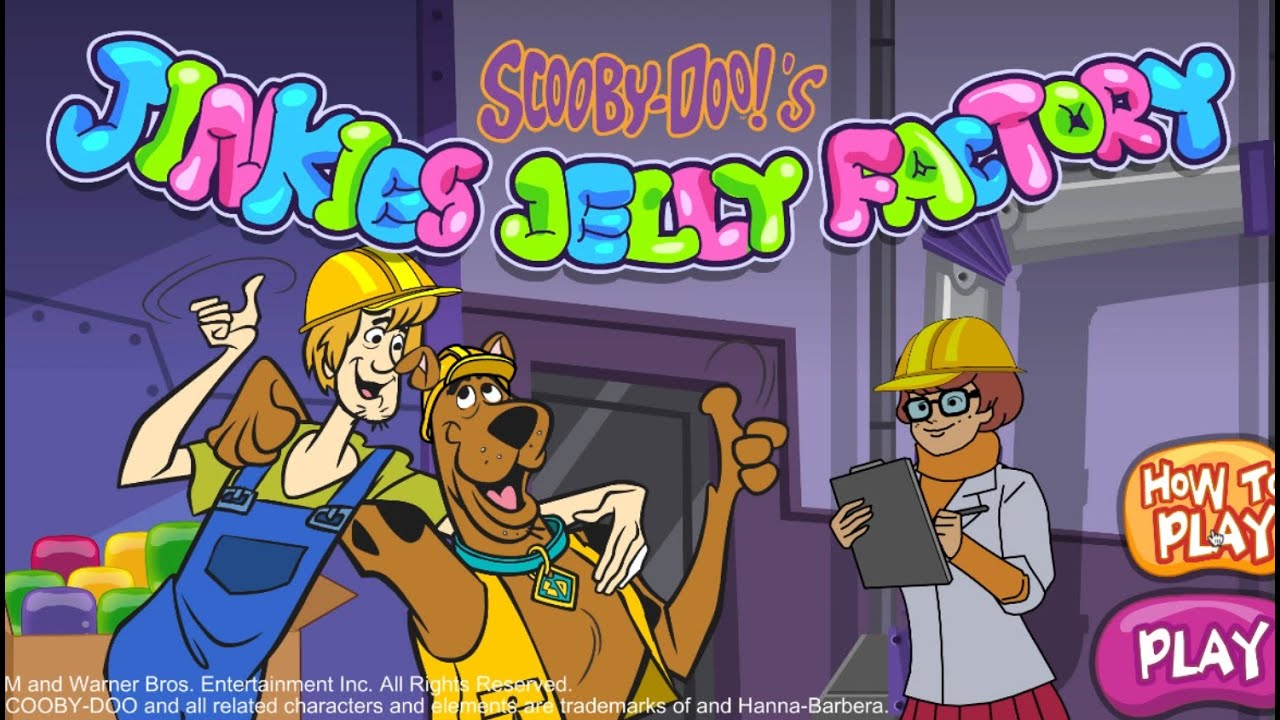 Scooby-doo: Jinkies Jelly Factory