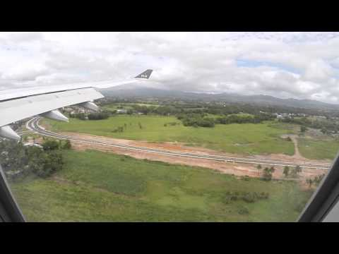Fiji Airways FJ360 A330-200 Landing into Nadi Intl Airport Rwy 02