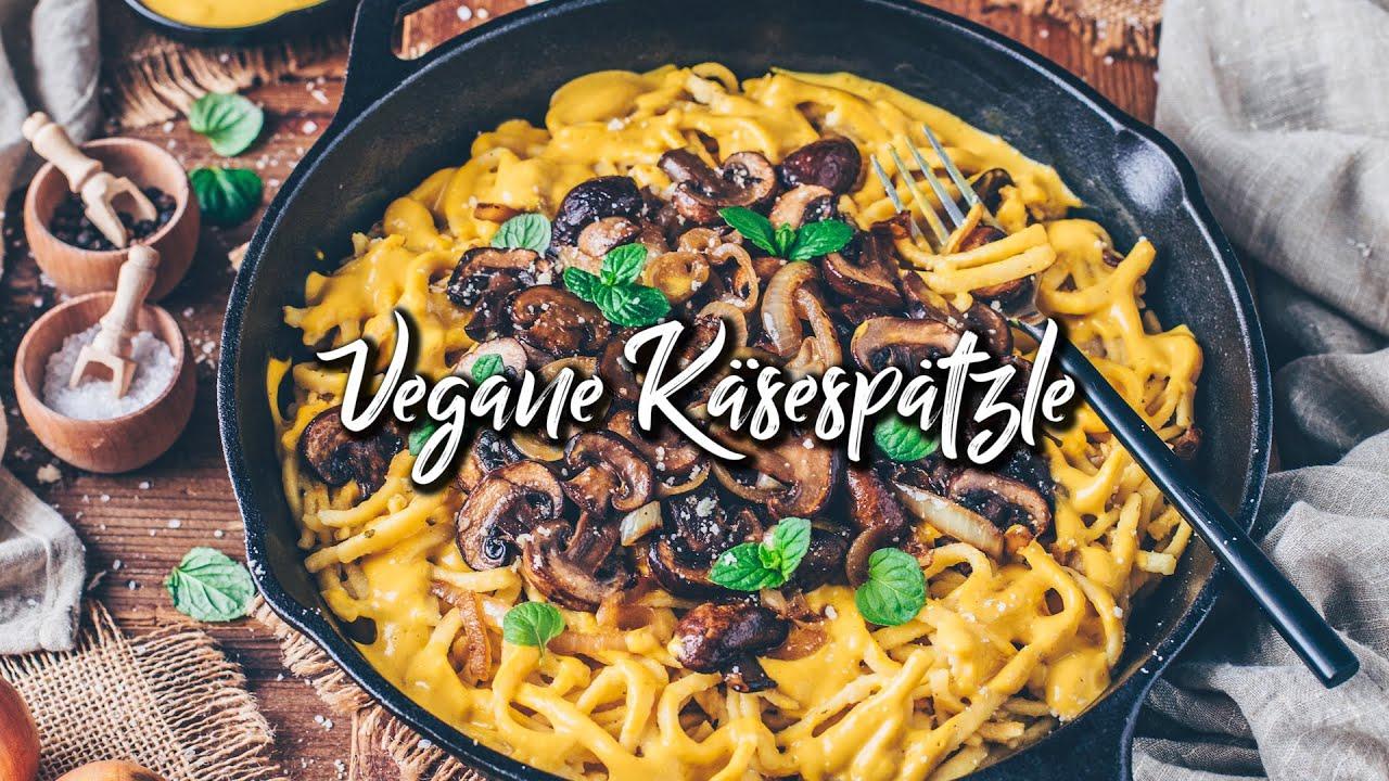Vegane Käse Spätzle | *Das beste Rezept zum Selbermachen mit veganer Käsesoße! - Einfach*