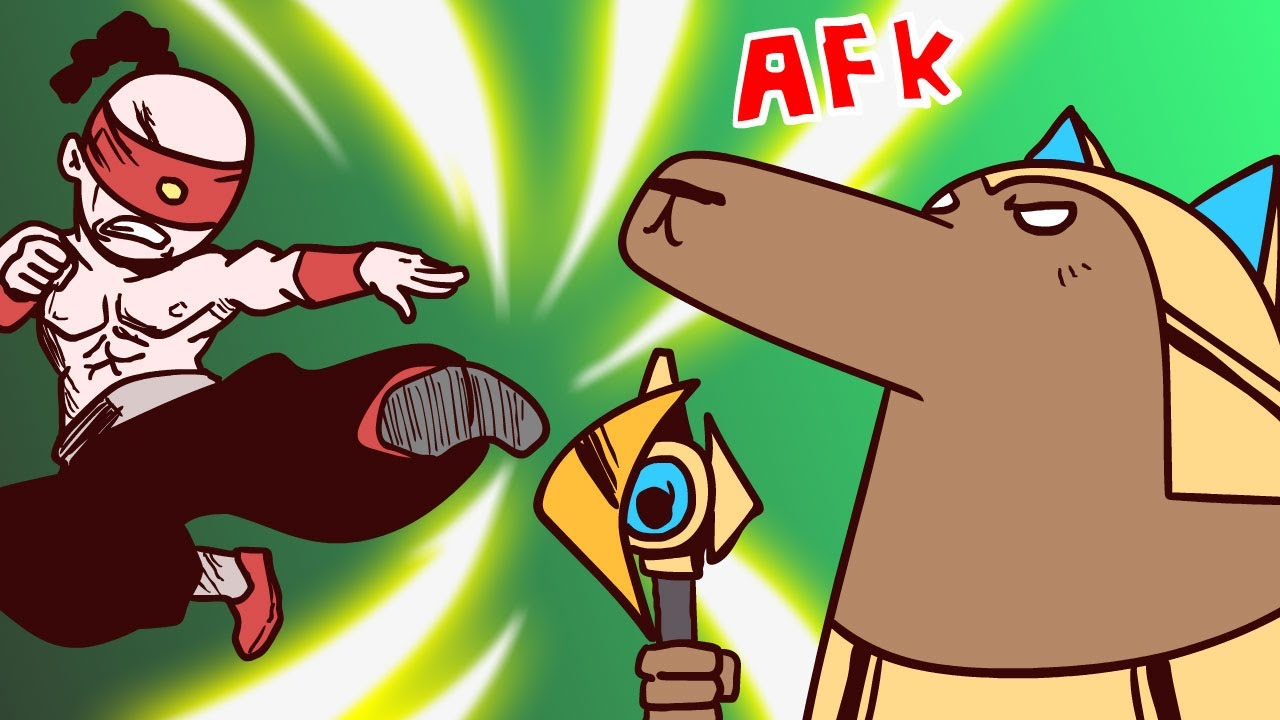 ⚡️ KILLED BY AFK ⚡️  | League of Legends Animation