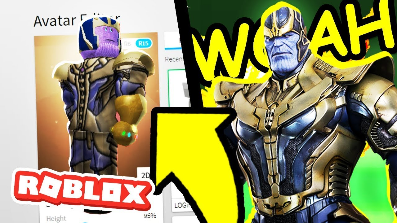 How To Be Thanos In Roblox Roblox Avengers Infinity War