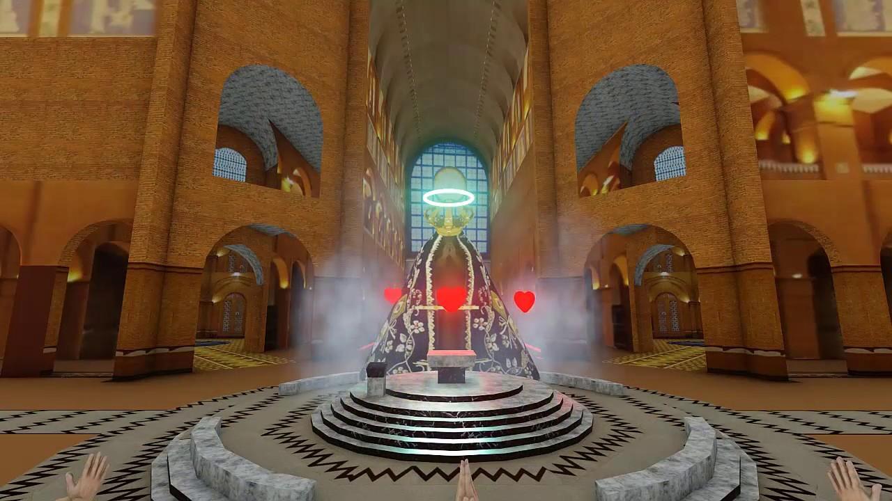 Nossa Senhora Aparecida OraÇÃo: Oração Em 3D Versão Basílica