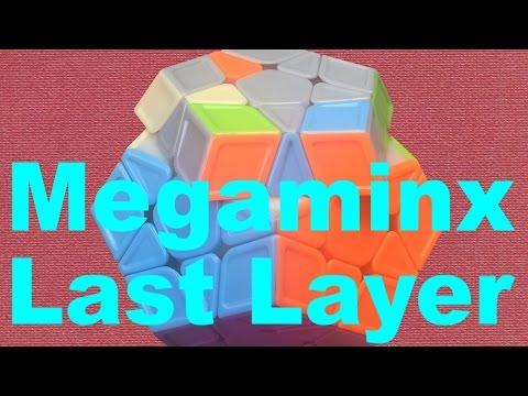 Intermediate Megaminx Last Layer [4-Look LL]