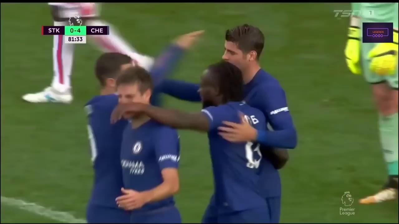 Download Stoke City Vs Chelsea 0-4   Alvaro Morata hat trick vs Stoke City 🔥🔥