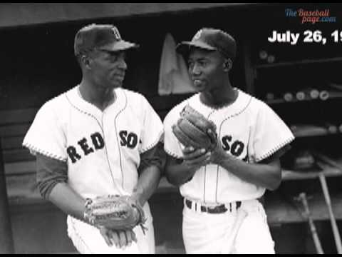 Gene Conley and infielder Pumpsie Green of the Red Sox mysteriously disappear after a to the Yankees