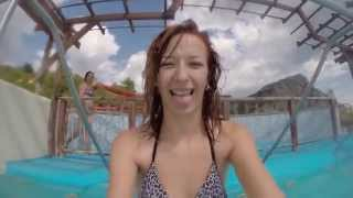 Потеряла трусики и лифчик в Аквапарке   Lost panties and bra in the Aqua Park