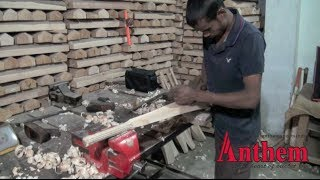 How a Cricket Bat is made at Anthem Sports