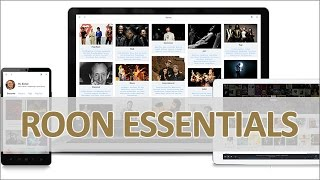 Roon Essentials - Musik Server Software