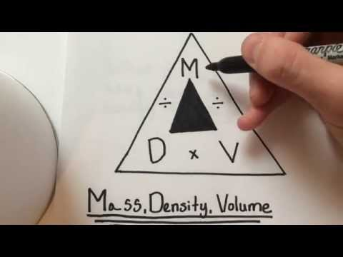 How To: Find Density/Mass/Volume (EASY equation w/ practice problems)