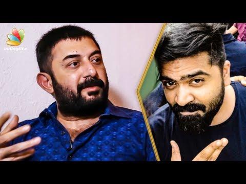 Simbu Behaviour in CCV Sets : Arvind Swamy Interview | Chekka Sivantha Vaanam, Bhaskar Oru Rascal