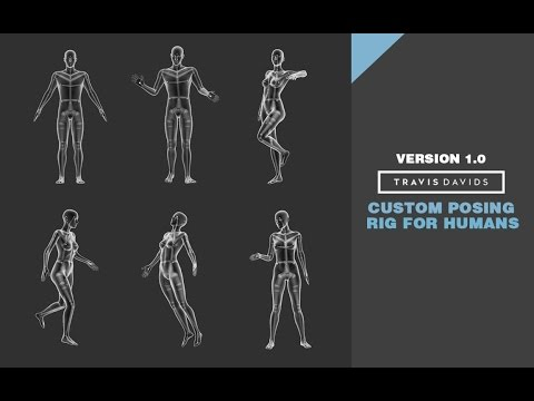 Zbrush - How To Set Up And Use The Custom Posing Rig