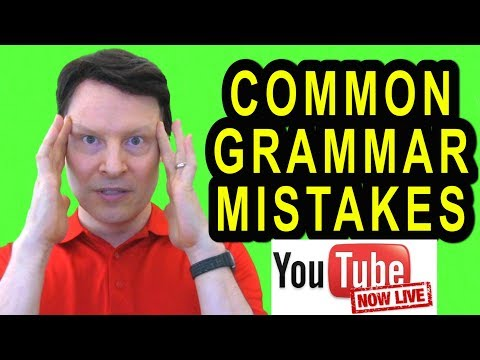 Do you make these mistakes in English? | Learn English with Steve Ford Live