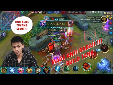 Ini Mage Kelewatan Sadis Defens & Damage Nya  – Alice Build Review – Mobile Legends #26