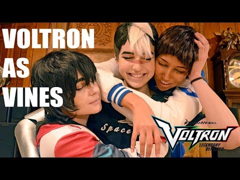 VOLTRON AS VINES | Voltron Cosplay